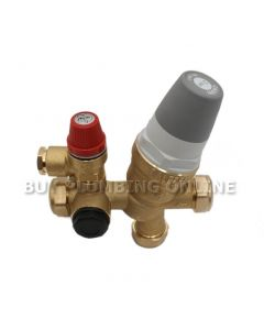 Caleffi 535 Cold Water Control Valve 3 Bar 535001CST