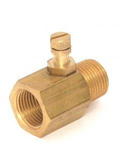 Clesse Gas Test Point Adaptor 1/2 BSP Male / Female BTPA04K