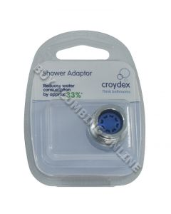 Croydex Water Saving Shower Hose Adaptor AM164541