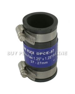 Deks Value Flex Pipe Connector 37mm - 27mm DPCE-37
