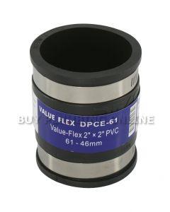 Deks Value Flex Pipe Connector 61mm - 50mm DPCE-61