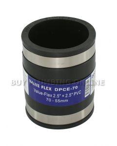 Deks Value Flex Pipe Connector 70mm - 55mm DPCE-70