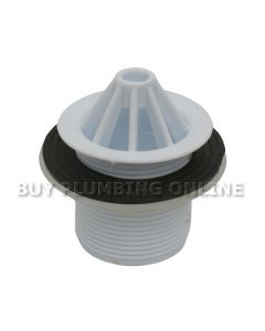 Domed Urinal Grating 1.1/2 Inch White