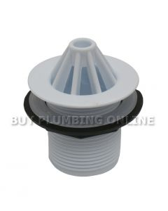 Domed Urinal Grating 1.1/4 Inch White