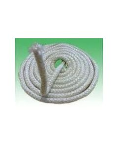 Glass Fibre Door Seal Stove Rope 15mm Per Metre