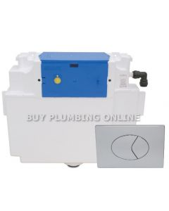 Thomas Dudley Vantage Cistern with Oyster Push Plate 323376