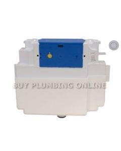 Dudley Vantage Insulated Concealed Single Flush Cistern +Royal Button 314454