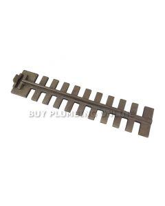 Dunsley Chrome Iron Upper Grate Bar 02012