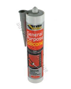 Everbuild General Purpose Grey Silicone
