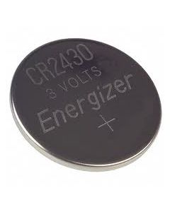 Energizer 3V Lithium Coin Cell Battery CR2430 Watchman Replacement
