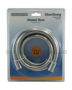 Euro Silver Strong Smooth Shower Hose 150cm