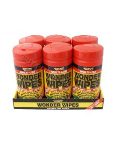 Everbuild Wonder Wipes Tub (100) 6 Pack