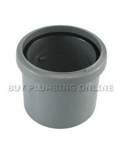Floplast 110mm Soil Coupling Single Socket Grey SP124