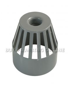 Floplast 110mm Soil Vent Terminal Grey SP302