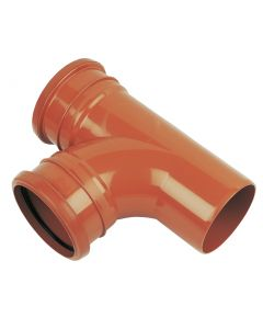 Floplast 110mm Underground Junction 87.5° Double Socket D190