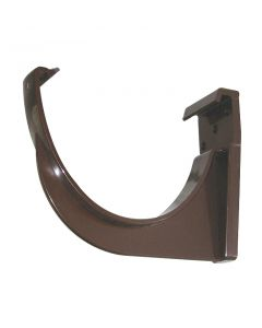 Floplast 115mm Hi-Cap Gutter Fascia Bracket Brown RKH1BR