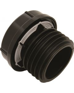 FloPlast External Air Admittance Valve 110/82mm AX110 Black
