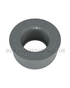 Floplast Soil 32mm Solvent Boss Adaptor Grey SP20