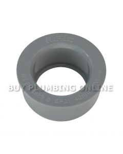Floplast Soil 40mm Solvent Boss Adaptor Grey SP21