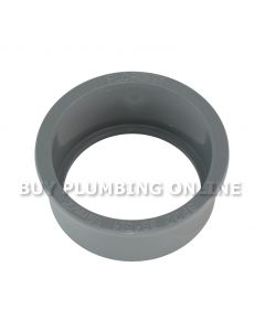 Floplast Soil 50mm Solvent Boss Adaptor Grey SP22