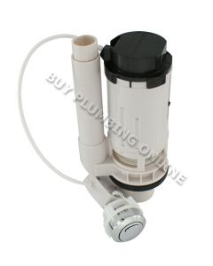 "Fluidmaster Cable Pushbutton Dual Flush Valve 1/1.2""/2"""