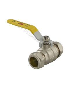 Gas Lever Ballvalve 22mm
