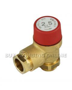 Grant 2.5Bar Pressure Relief Valve External MPCBS50X