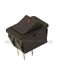 Grant On/Off Double Pole Switch (neon) EFBS19