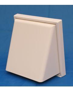Manrose External Hooded Weatherproof Cowl White 41031
