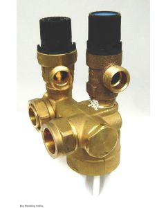 OSO Mixing Valve 60°C - connects to top of cylinder 90232