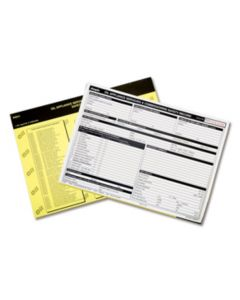 Regin Oil Appliance Servicing & Commissioning Safety Record Pad