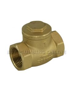 Swing Check Valve Brass 1