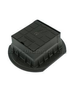 Talbot Surface Box Water Black 1202
