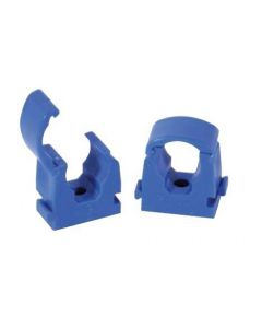 Talon 22mm Cold Pipe Identification Clip Hinged Blue Pk 20 TS22BLU/20