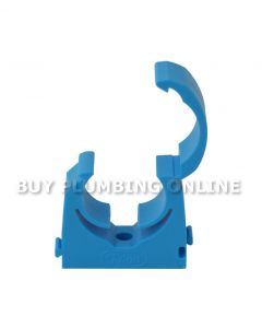 Talon 19-21mm MDPE Hinged Clip Blue Pack 20 TMS20/20