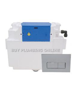 Thomas Dudley Vantage Dual Flush Cistern with Reef Push Plate 326916