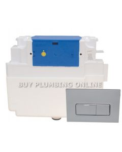 Dudley Vantage Insulated Dual Flush Cistern + Reef Plate 326917