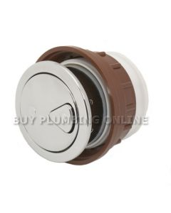 Thomas Dudley Vantage Round Button Dual Flush 73.5mm 327732