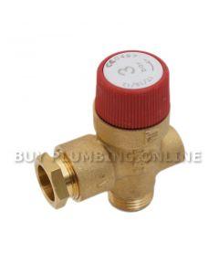 Warmflow Pressure Relief Valve 2132