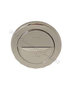 Wisa Dual Flush Button Chrome