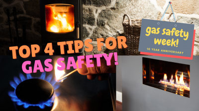 Our top 4 Gas Safety Tips for Gas Safety Week