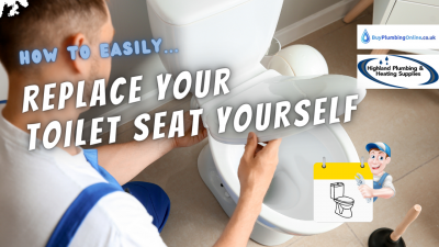 How to replace a toilet seat with our easy fitting guide