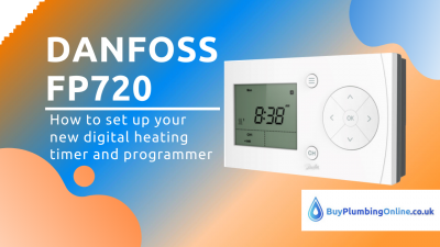How to set up a Danfoss FP720 heating timer