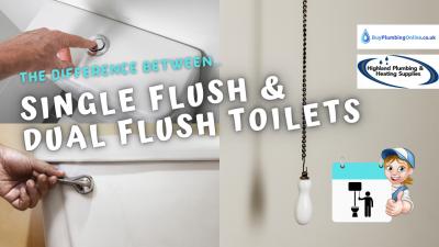 Dual Flush Vs. Single Flush Toilet Comparison