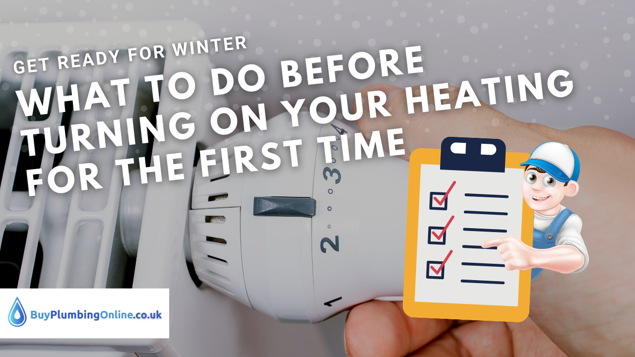 Winter is coming: How to prep your heating for first use
